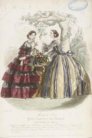 """Pears and . . . Ladies High Fashion?  Mais oui!"" by Anna Soo-Hoo"