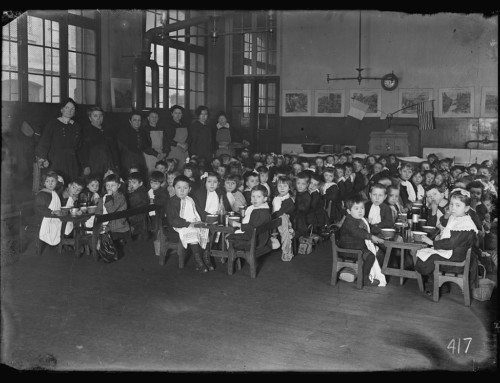 American Food in the 1918 Diet of Parisian Schoolchildren