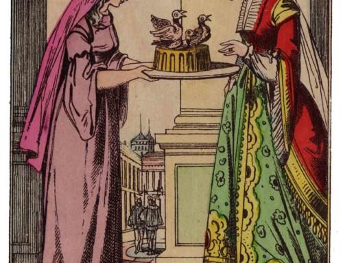 « Madame, répliqua Florine, je mange des astrologues, des musiciens et des médecins. »